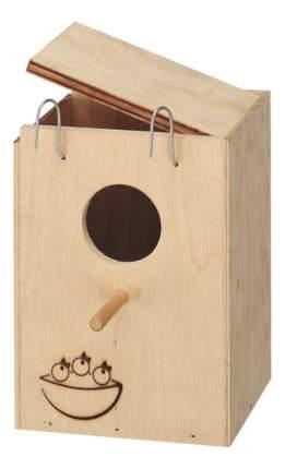Ferplast домик-гнездо Nido Small для птиц деревянный
