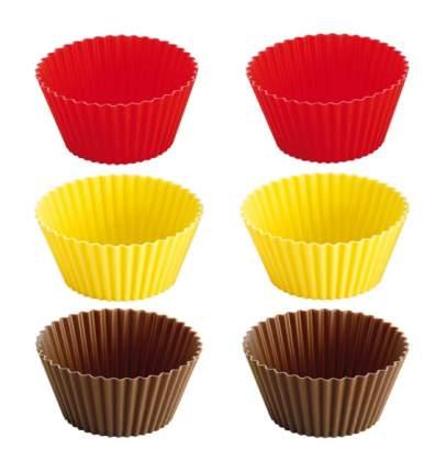 Корзинка для кексов и маффинов Tescoma Delicia 630646 Красный; Желтый; Шоколадный