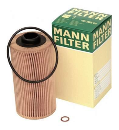 Фильтрующий элемент масляного фильтра MANN-FILTER HU938/1X
