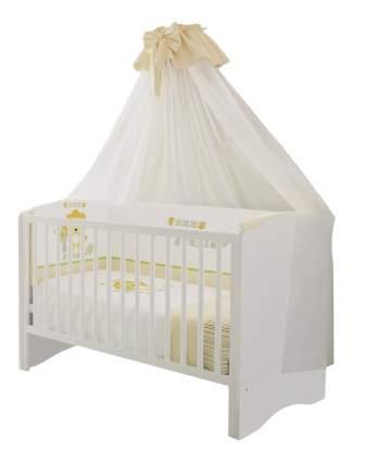 Кровать-трансформер Polini Simple 140 х 70 см, белый