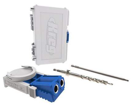 Кондуктор для сверления для дрелей. шуруповертов Kreg Jig Jr. со струбциной R3-PROMO
