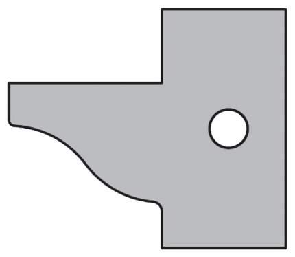 Комплект 2 ножей HM 25x29x2 (A1) для 694.015 CMT 695.015.A1