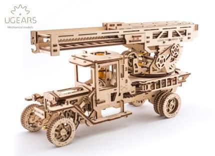 Сборная модель конструктор UGEARS Пожарная лестница