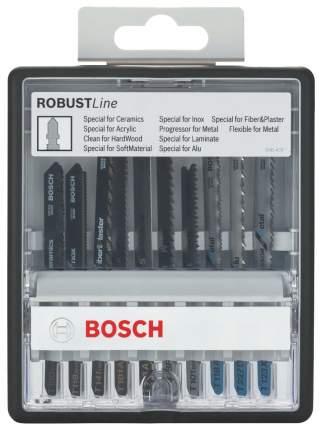 Набор пилок для лобзика Bosch Special T Robust Line 2607010574