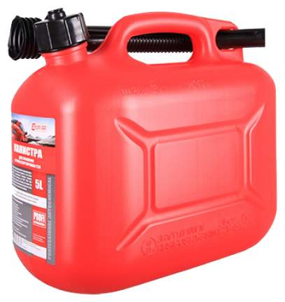 Канистра 3ton 55297 для топлива красная 5 л