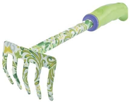 Грабли 5-зубые прямые, пластиковая рукоятка//PALISAD 62039