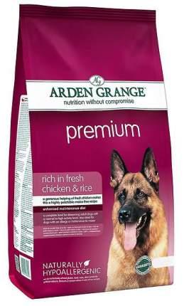 Сухой корм для собак Arden Grange Premium, курица,  15кг
