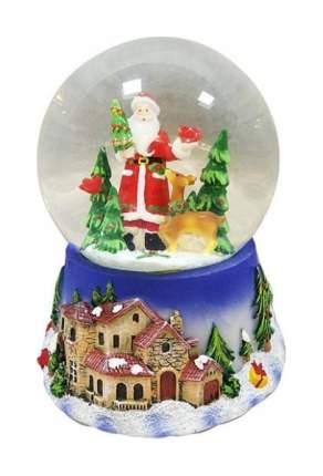 Снежный шар Новогодняя сказка Дед Мороз 10 см мелодия 972478