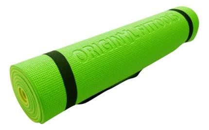 Коврик для фитнеса Original Fit.Tools FT-YGM06S желто-зеленый 6 мм