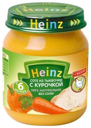 Пюре мясное Heinz Соте из тыквочки с курочкой с 6 мес. 120 г