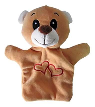 Мягкая игрушка на руку Shantou Gepai Мишка с сердечком stw305a-br