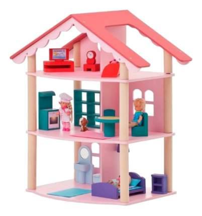 Кукольный домик Paremo Роза Хутор с мебелью PD215