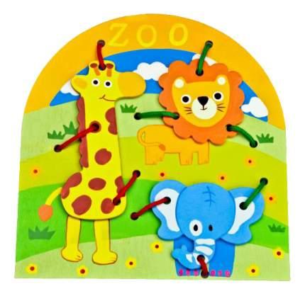 Mapacha Развивающая игра Mapacha Шнуровка Животные 76518