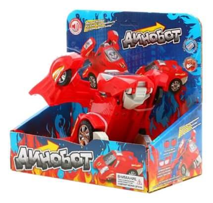 Интерактивная игрушка Zhorya Динобот трансформер красный