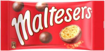 Драже Maltesers хрустящие шарики покрытые молочной шоколадной глазурью 37 г