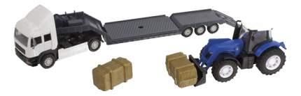 Спецтехника HTI Фермерский грузовой автомобиль c синим трактором