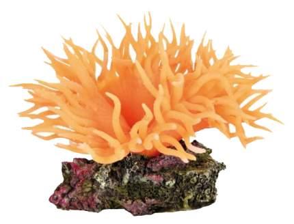 Грот для аквариума TRIXIE Sea Anemone Анемон, полиэфирная смола, оранжевый, 5х7х8 см