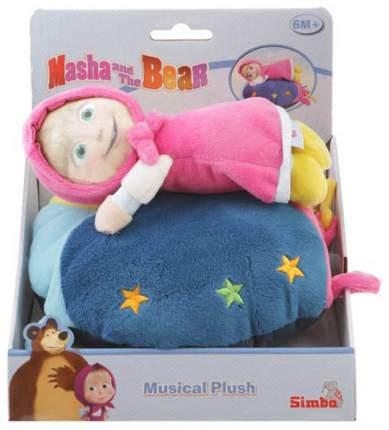 Подушка плюшевая Simba Маша и Медведь музыкальная