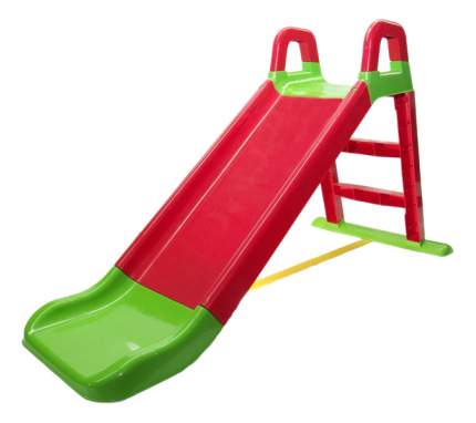 Горка детская Doloni Зелено красная