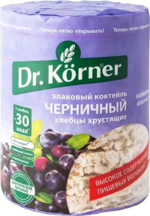 Хлебцы хрустящие Dr.Kоrner злаковый коктейль черничный 100 г