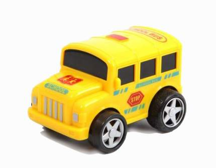 Машинка инерционная Джип с большими колесами 1:72 Gratwest А56071