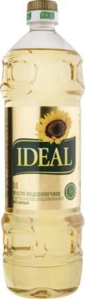 Масло подсолнечное Ideal без запаха 1 л