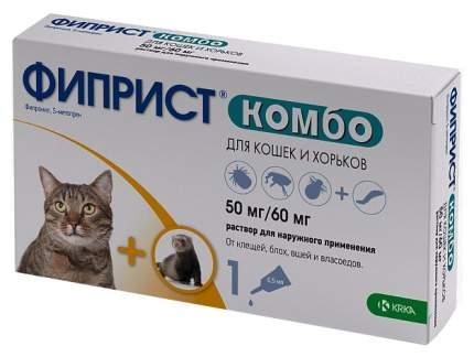 Средство от блох для домашних животных KRKA ФИПРИСТ КОМБО 1 х 0,5 мл