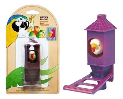 Игрушка для птиц Penn-Plax птичка в домике, пластик, 6.5x11см