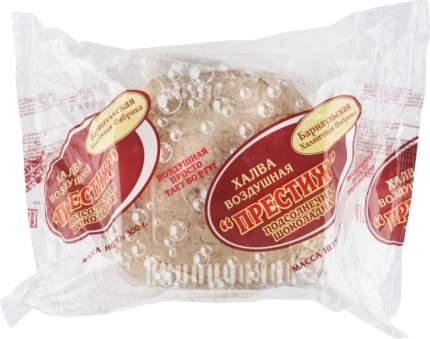 Халва воздушная престиж Барнаульская Халвичная Фабрика подсолнечная шоколадная 300 г