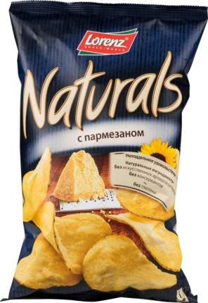 Картофельные чипсы Lorenz naturals с пармезаном 110 г