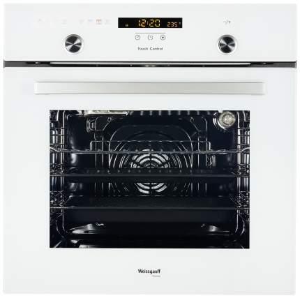 Встраиваемый электрический духовой шкаф Weissgauff EOA 691 PDW White