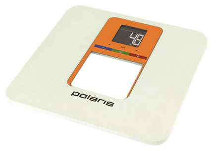 Весы напольные Polaris PWS 1833D Smart Colors Белый, оранжевый