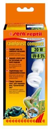 Ультрафиолетовая лампа для террариума Sera Reptil Rainforest Compact UV-B, 20 Вт