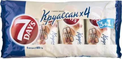 Круассаны 7 Days с ванильным кремом 65 г 4 штуки