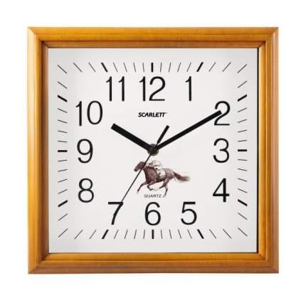Часы Scarlett SC-WC1015O Белый, желтый