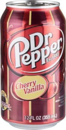 Напиток сильногазированный Dr.Pepper cherry vanilla жестяная банка 355 мл