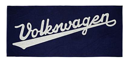 Банное полотенце Volkswagen Classic Bath Towel, Black, артикул 311084500