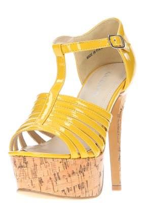 Босоножки женские KRIZIA POI KPSC97T05 желтые 39 RU