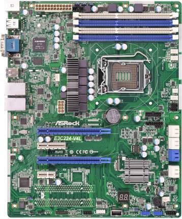 Материнская плата ASRock Rack E3C224-V4L