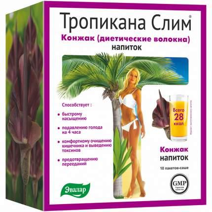 Диетические волокна Тропикана слим Конжак 10 саше по 10 г