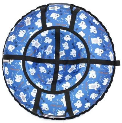 Тюбинг Hubster Люкс Pro Мишки синие 120 см