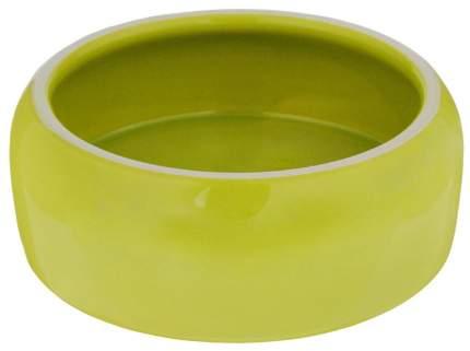 Миска для животных Nobby, керамическая, зеленая, 500 мл