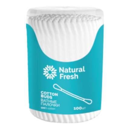 Ватные палочки Natural Fresh  100 шт