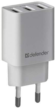 Сетевой адаптер питания Defender UPA-31 зарядка 3.1А 3 USB-порта