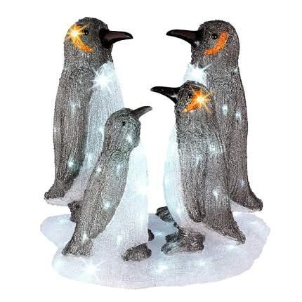 Kaemingk Светодиодная фигура Семья Пингвинов, 47 см, уличная
