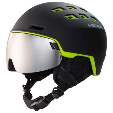 Горнолыжный шлем Head Radar 2020 black/lime, M/L