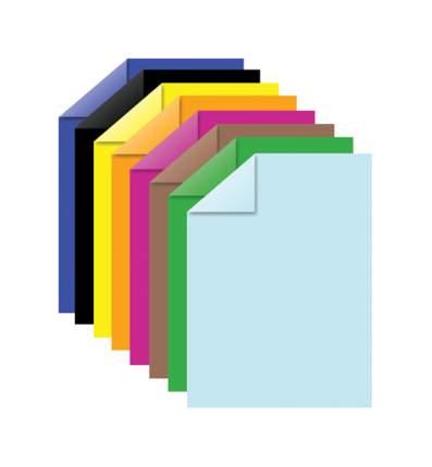 Набор цветной бумаги Brauberg 124714