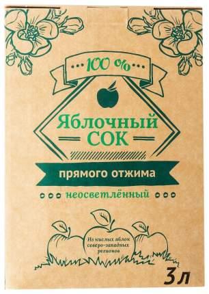 Сок яблочный из кислых сортов 3 л