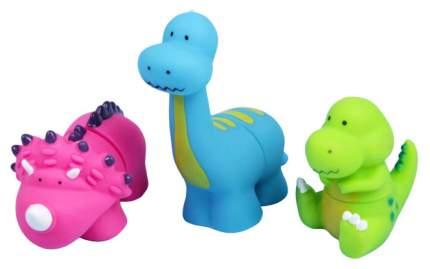 """Резиновые игрушки для ванны """"Динопарк"""", 3 шт. Крошка Я"""