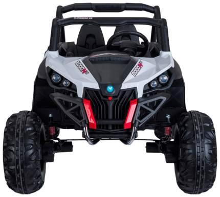 Электромобиль «БАГГИ», полный привод 4WD, кожаное сидение, цвет белый Sima-Land